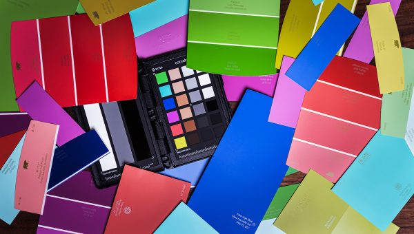 How to Make a DIY Color Checker... Sort of...