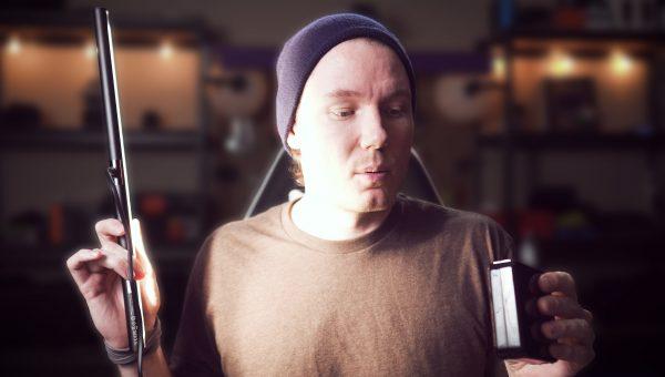 LED Lamp or Amazing Video Light! (BenQ ScreenBar)