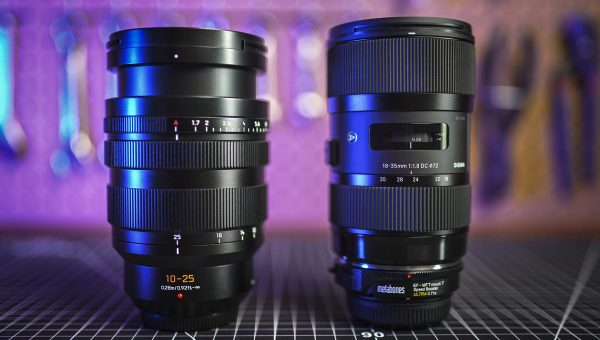 Panasonic 10-25mm f1.7 Lens Review (vs Sigma 18-35 + Speed Booster)