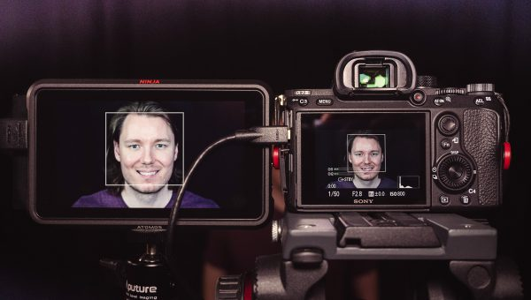 PROOF - Sony Face Detection AF Working with 4K HDMI (Atomos Ninja V)