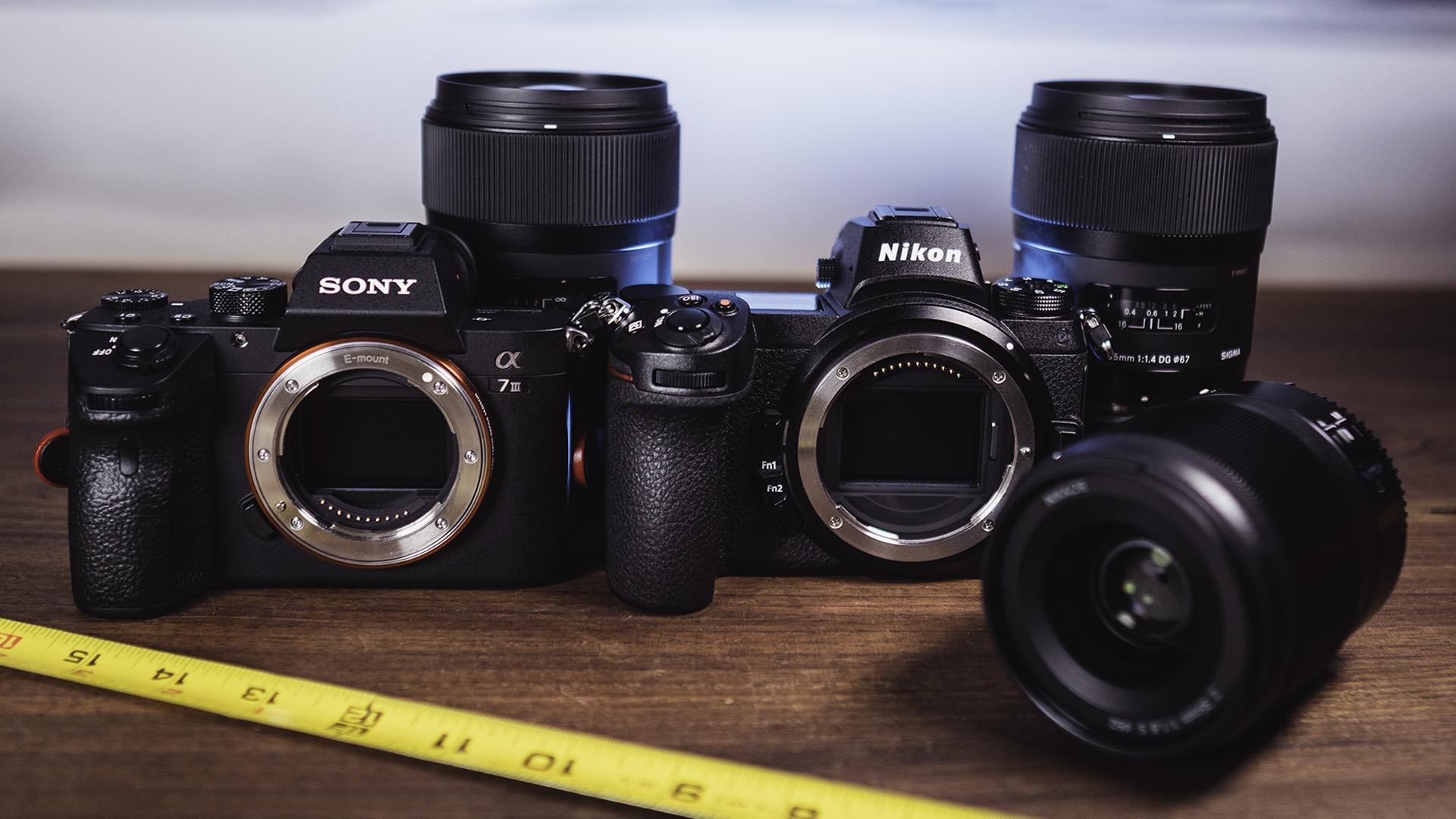 Sony a7 III vs Nikon Z6 + Sigma Art 35mm FTZ vs Nikon 35mm f