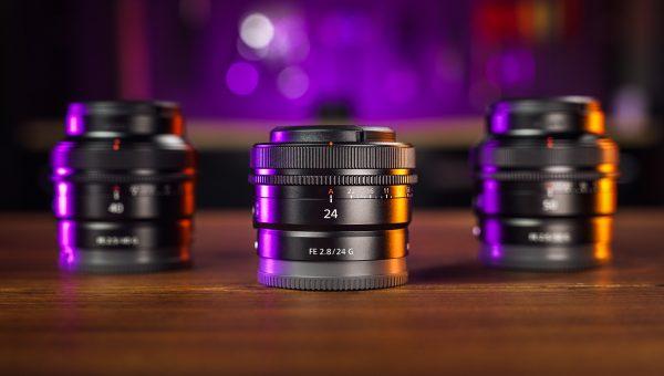 Sony TINY Full-Frame G Lenses - 24mm f2.8, 40mm f2.5, & 50mm f2.5 Review