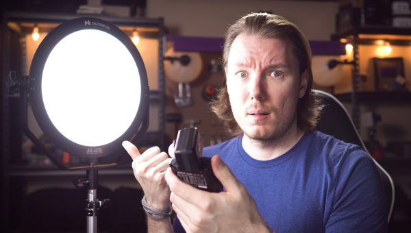 Very IMPRESSED by This LED Light Falcon Eyes SO-28TD Review