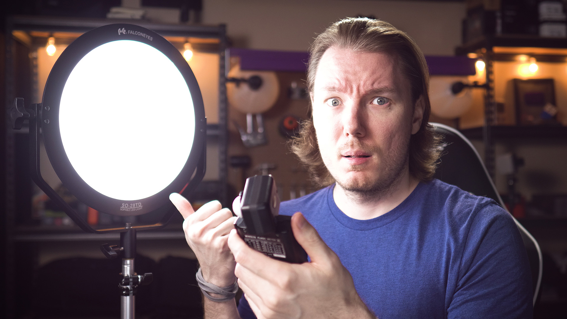 Very IMPRESSED by This LED Light / Falcon Eyes SO-28TD Review
